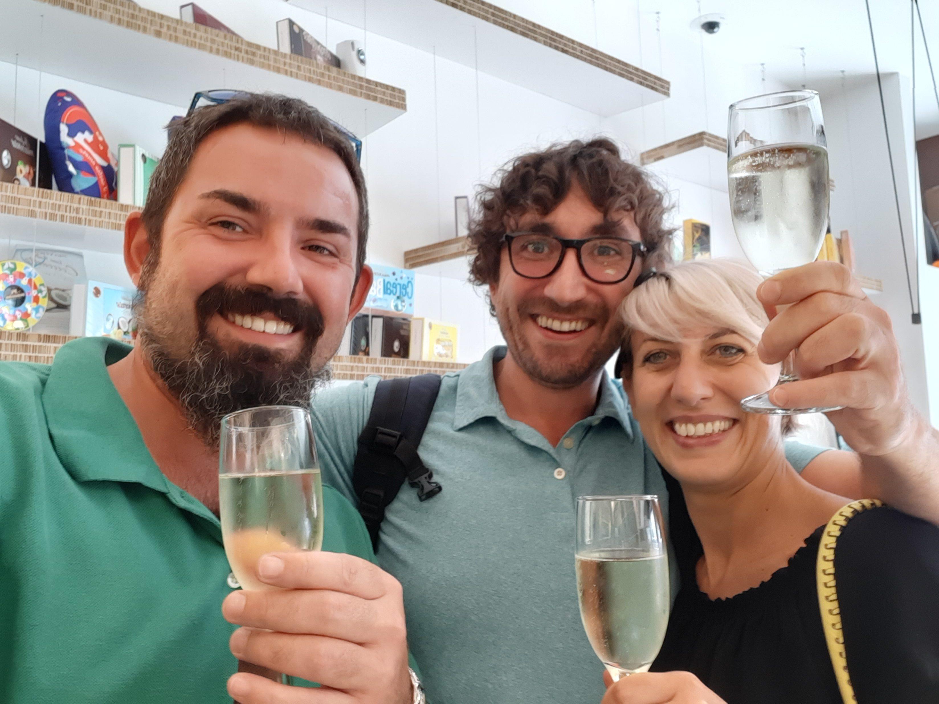 A toast to b4chem